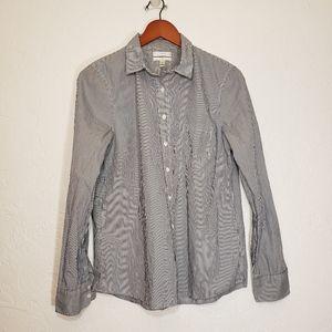 J Crew Classic-fit boy shirt in stripe, Size 12